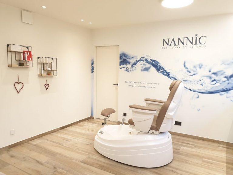 Behandelkamer Purelien Huidtherapeute-stoel
